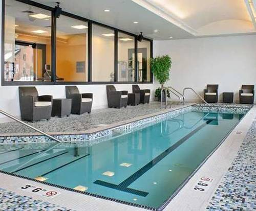 Hilton Garden Inn Portland Downtown Waterfront - Portland ME Indoor Swimming Pool