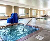 Comfort Suites at Harbison Indoor Swimming Pool