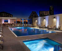 Outdoor Swimming Pool of Hilton Austin