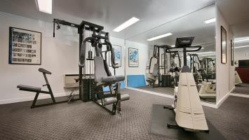 Fitness Center at Best Western Greentree Inn