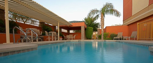 Outdoor Pool at Holiday Inn Express Hotel & Suites Tempe