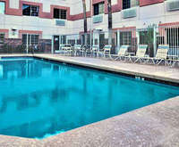 Outdoor Pool at Comfort Suites Airport