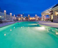 Outdoor Swimming Pool of Holiday Inn Redding