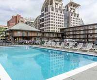 Outdoor Pool at Quality Inn Downtown Historic District