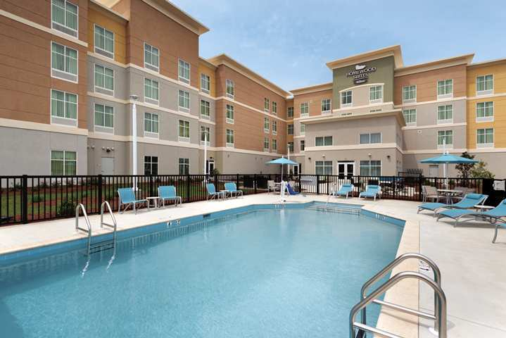 Outdoor Pool at Homewood Suites by Hilton Mobile I-65/Airport Blvd, AL