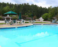 Outdoor Pool at Golden Eagle Resort
