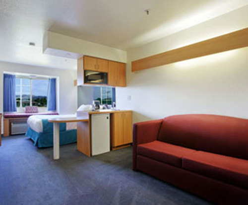 Photo of Microtel Inn & Suites by Wyndham Morgan Hill/San Jose Area Kitchenette