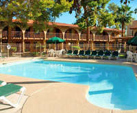 Outdoor Pool at Hospitality Suite Resort