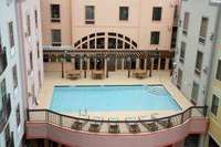 Outdoor Swimming Pool of Hampton Inn & Suites Amelia Island-Historic Harbor Front