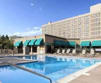 Outdoor Swimming Pool of Doubletree by Hilton Grand Junction Hotel