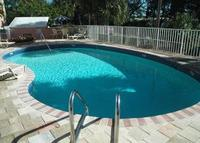 Outdoor Pool at Quality Inn Sarasota
