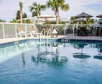 Outdoor Pool at Comfort Suites Sarasota Florida