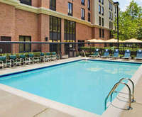 Outdoor Swimming Pool of Hampton Inn & Suites Annapolis