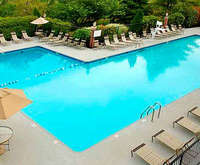 Outdoor Pool at DoubleTree by Hilton Hotel Annapolis