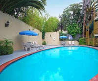 Outdoor Pool at Best Western Hollywood Plaza Inn