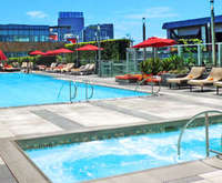 Outdoor Pool at Jw Marriott Los Angeles L.A. Live