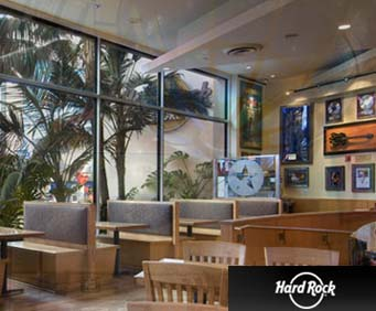 Hard Rock Café Seating