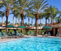 Outdoor Pool at Sheraton Park Hotel at the Anaheim Resort - Anaheim CA