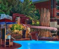 Outdoor Pool at Disney's Grand Californian Hotel and Spa
