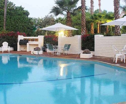 Outdoor Pool at Hotel Pepper Tree Anaheim, All Suites Hotel