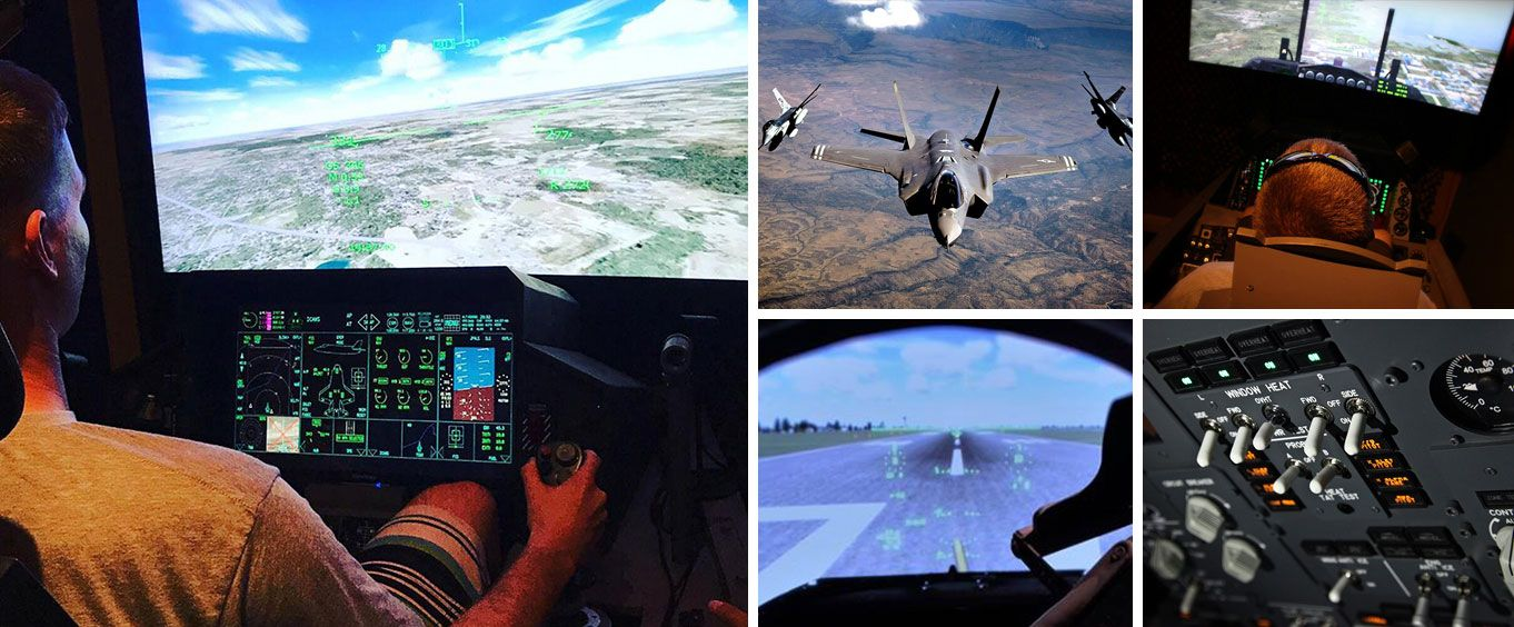 F-16 Fighter Jet Simulator Experience Special