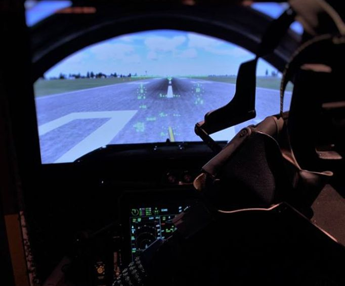 Fly the F-16 Fighter Jet Simulator Experience