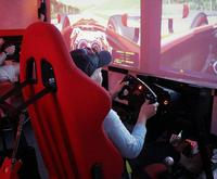 Driving on the Formula 1 Race Car Simulator Experience