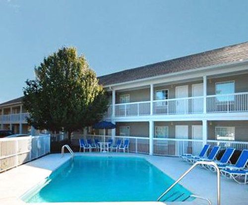 Outdoor Pool at Suburban Extended Stay of Wilmington