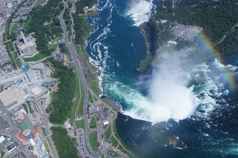 Niagara Falls and up the River