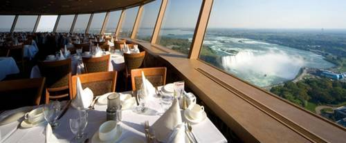 The view from Skylon Tower