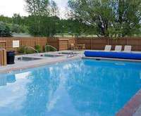 Outdoor Pool at Hampton Inn & Suites Steamboat Springs