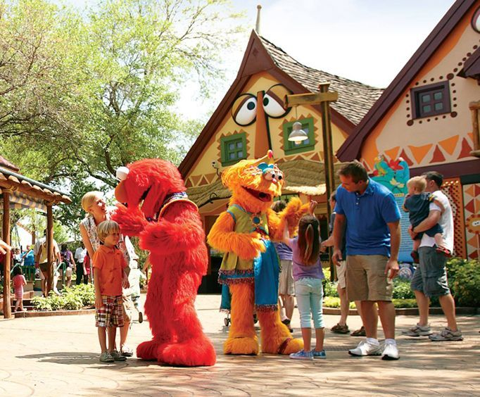Seasame Street at Busch Gardens Tampa