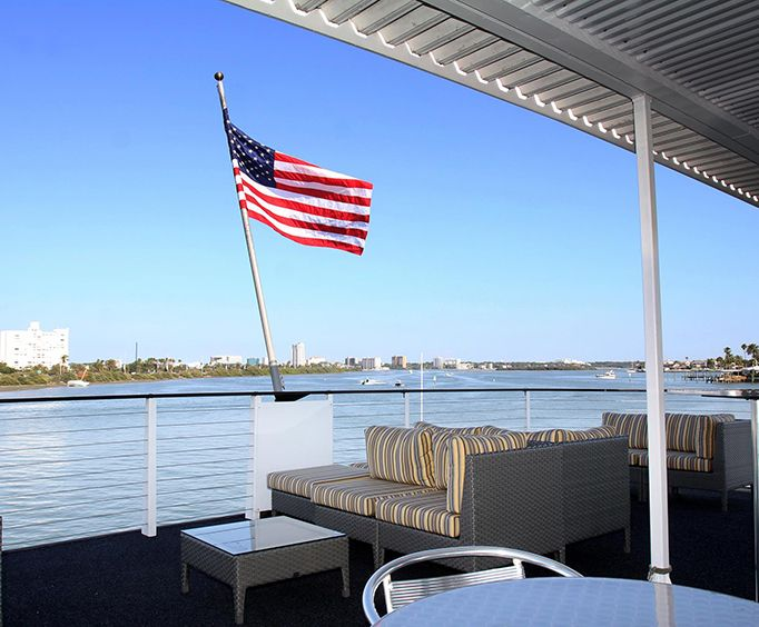 Tampa Sightseeing Cruises Aboard The Starlite Majesty Of