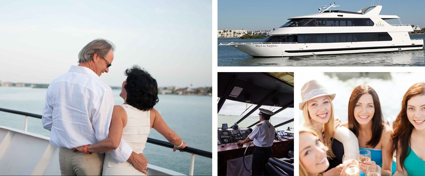Relaxing Fun at Starlite Sapphire Sightseeing Cruises of St Petersburg
