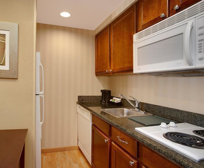 Photo of Homewood Suites by Hilton Tampa-Brandon Kitchenette