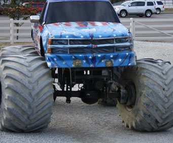 Monster Truck Rides, excitement