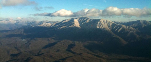 Helicopter Tour of the Smokies - Over the Mountains
