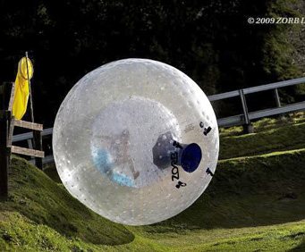 Smoky Mountains ZORB Ride giant ball