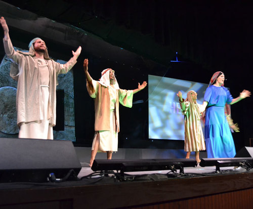 Days of Elijah at the Biblical Times Dinner Theater Christian show