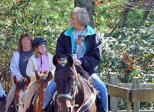 1 Hour Trail Ride at Five Oaks Stables