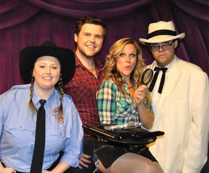 Cast of Moonshine Murders Dinner and Show