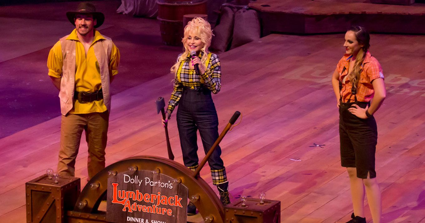 Dolly Parton S Lumberjack Adventure Dinner Amp Show