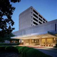 Exterior of Hilton University of Houston
