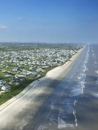 There are over 25 miles of beaches in Galveston.