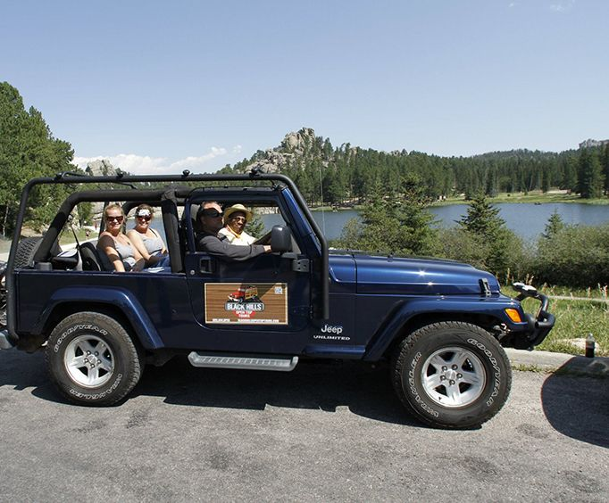 Jeep of the Custer State Park Safari Jeep Small Group Tour