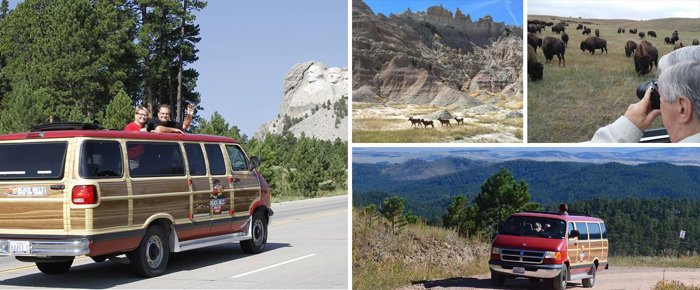 Enjoy the Moutn Rushmore and Black Hills Safari Tour from Rapid City