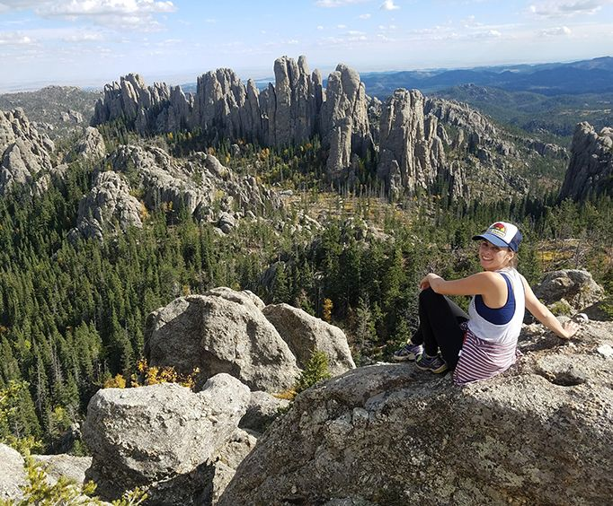 Breathtaking Views on the Southern Black Hills on Bike Tour