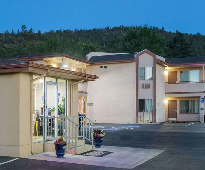 Exterior of Williams Grand Canyon Travelodge