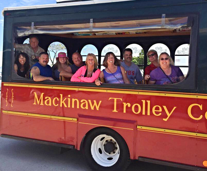 Historical Sightseeing Tour on the Mackinaw Trolley Photo