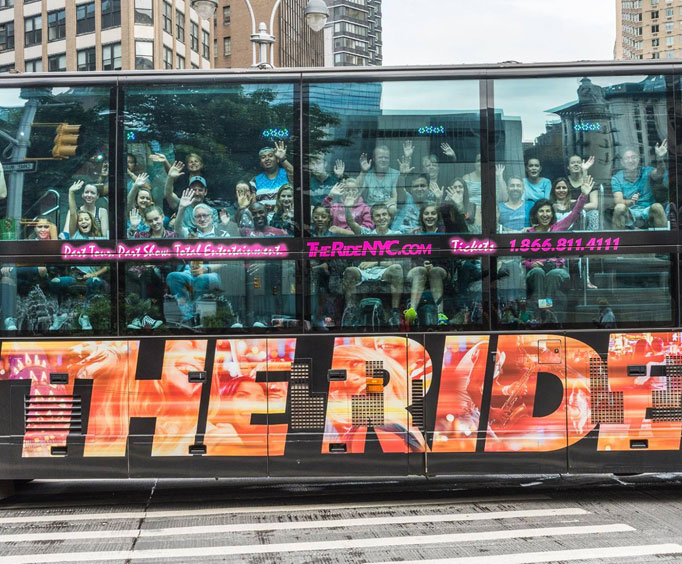 Ride in style during an NYC tour